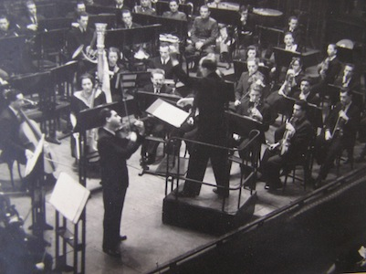 Soloist with Royal Academy Orchestra, Ernö Unger conducting, Budapest, 1943